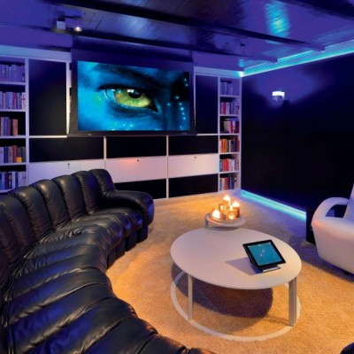 De Home Cinema in Showroom Aelivé