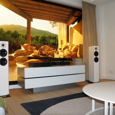 Van Buren audio design in Showroom Aelivé