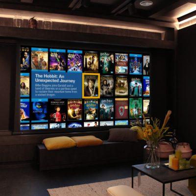 De Home Cinema in Showroom Aelivé