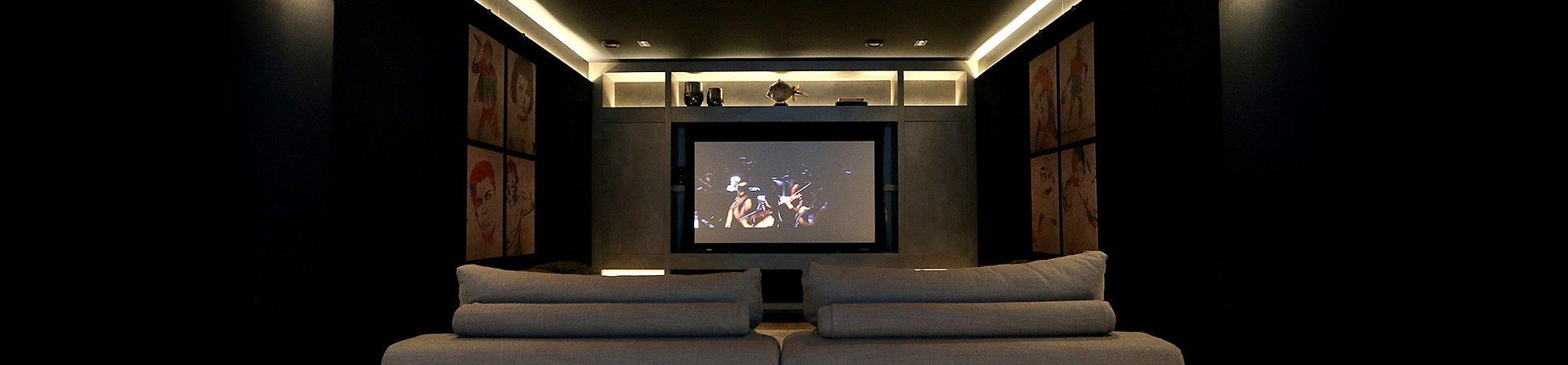 Home Cinema door ons verzorgd