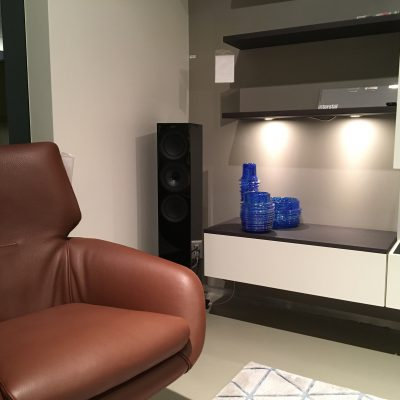KEF R-serie in Showroom Aelivé