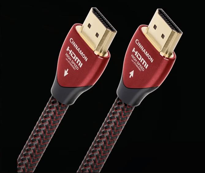pijltjes op de plugs van audioquest kabels