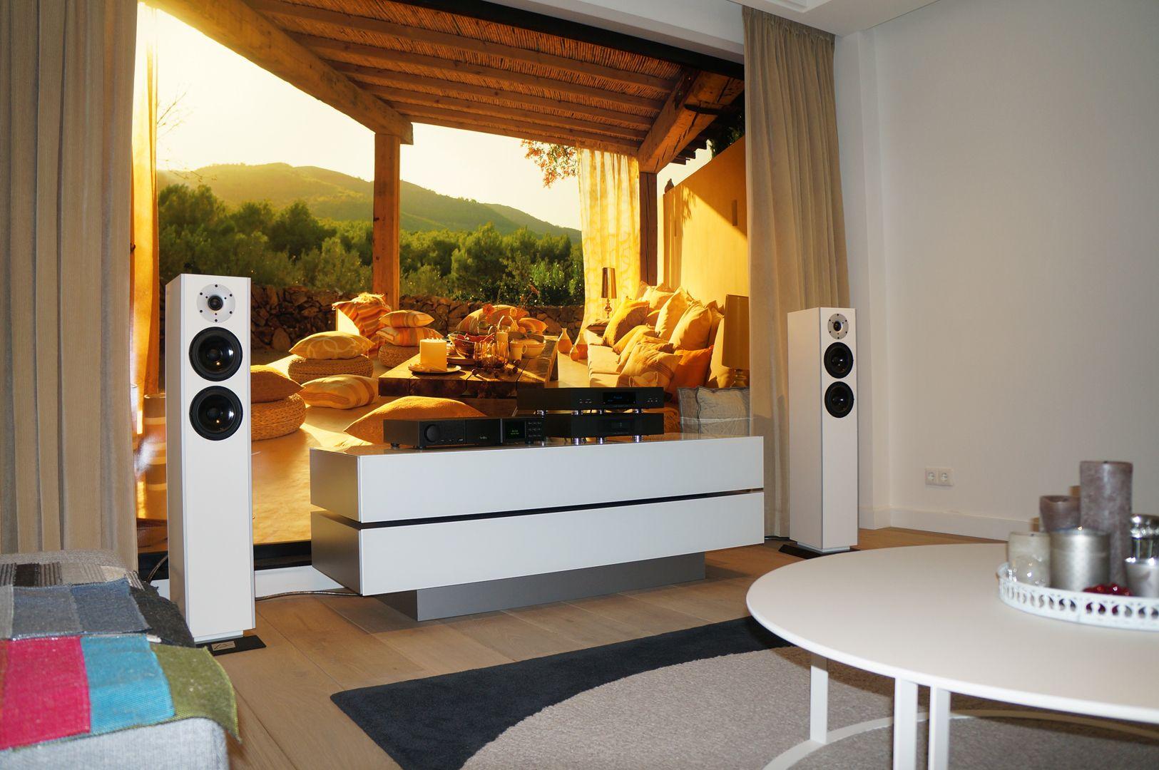 van buren audio design opstelling