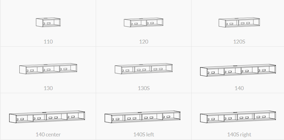 Clic meubilair modellen