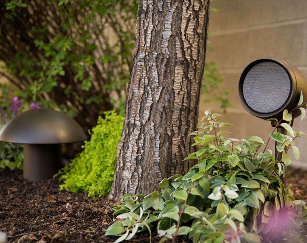 GARDEN ARRAY GA4 SAT & GA10 SUB triad speakers voor buiten