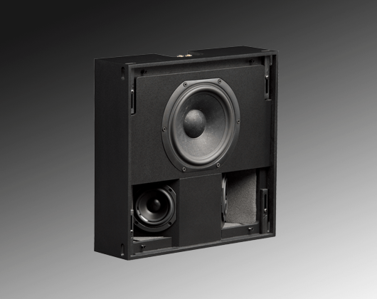 INWALL SILVER 4 SURROUND triad speakers