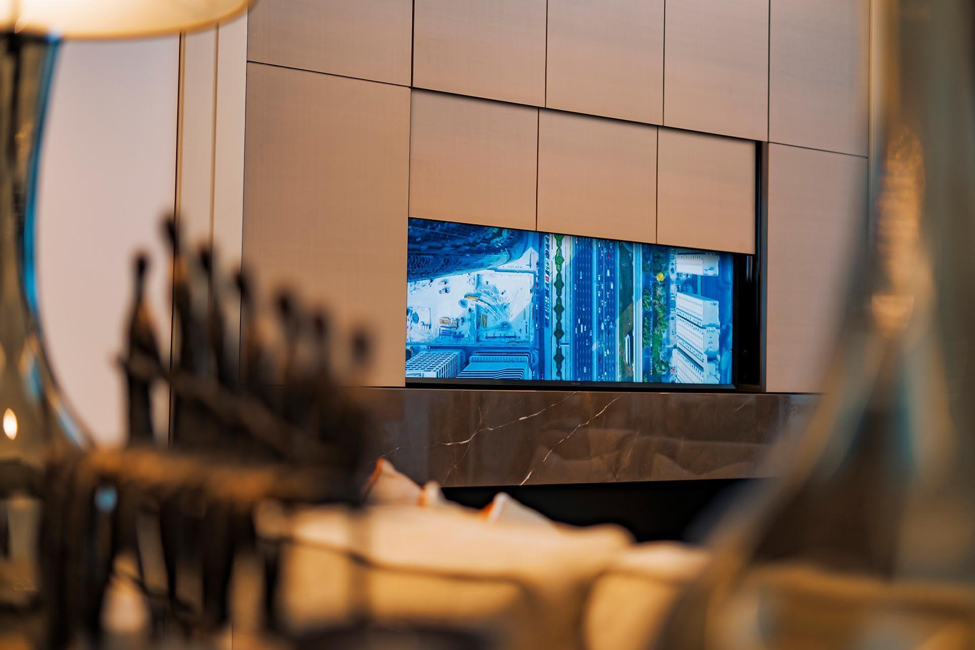 tv lift mechanisme van Future Automation