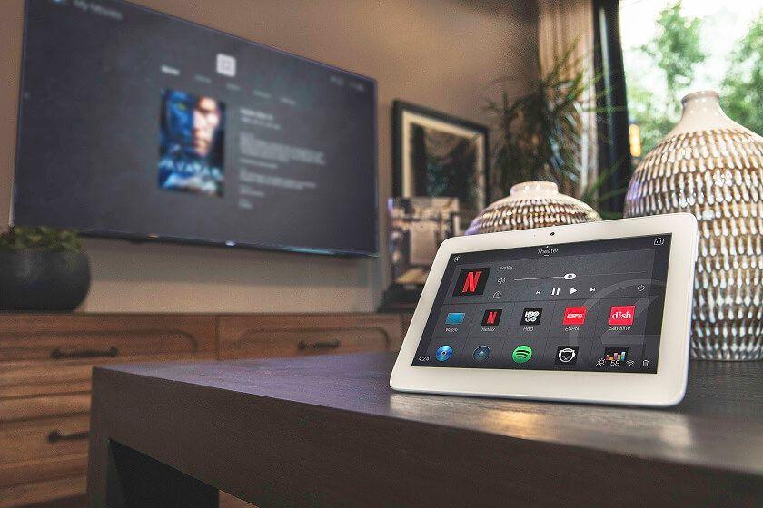 Control4 domotica apparatuur